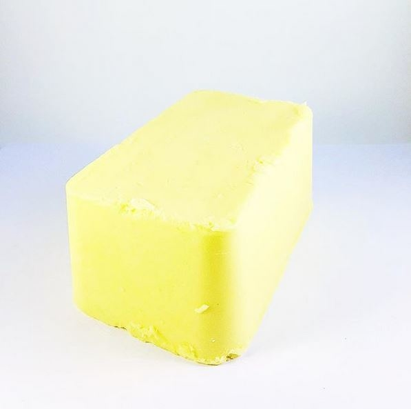 Fresh farm butter